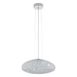 click-licht Hängeleuchte Pendelleuchte mit Glaskristallen, 540mm, Hängeleuchte, Pendellampe, Pendelleuchte