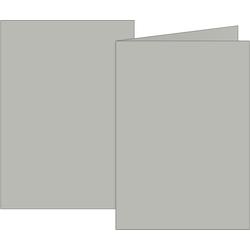 Doppelkarten grau DIN A6 160g