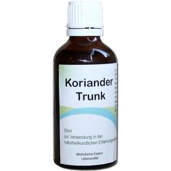 Koriander-Trunk Tropfen
