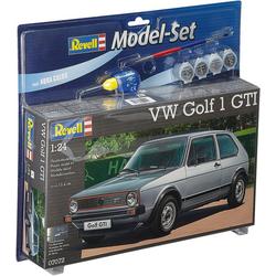 Revell® Modellbausatz Revell Modellbausatz - Model Set VW Golf 1 GTI