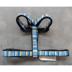 Hundegeschirr  Blau Größe L