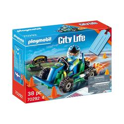 "Playmobil® Spielfigur PLAYMOBIL® 70292 Geschenkset ""Go Kart-Rennen"""