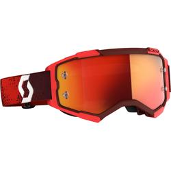 Scott Fury S20, Crossbrille verspiegelt - Rot Orange-Verspiegelt