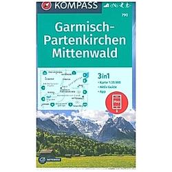 KV WK 790 Garmisch-Partenkirchen  Mittenwald 35T - Buch