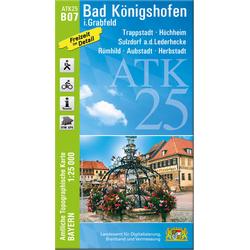 Bad Königshofen 1 : 25 000