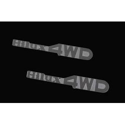 RC4WD Z-S0930 1-10 Hilux 4WD Emblem Set Für Mojave und Hilux Karosserie