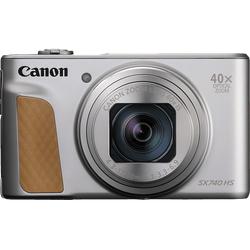 CANON PowerShot SX740 HS Digitalkamera Silber, 40fach opt. Zoom, LCD (TFT), WLAN