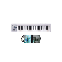 Roland Audio Keyboard Roland A-49 -Keyboard Weiss + MIDI-Kabel
