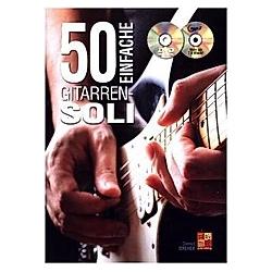 50 einfache Gitarren-Soli  Buch + DVD + MP3-CD. Gernot Dreher  - Buch