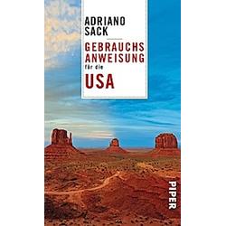 Gebrauchsanweisung für die USA. Adriano Sack  - Buch