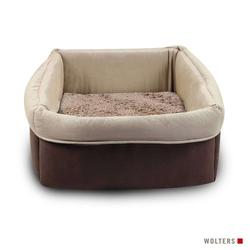Wolters Eco-Well Hunde- & Katzenkorb braun/beige, Größe: M