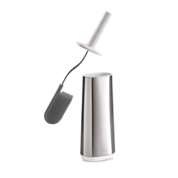 JOSEPH JOSEPH Hygienische flexible Toilettenbürste FLEX STEEL Edelstahl
