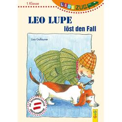 LESEZUG/1. Klasse: Leo Lupe löst den Fall als Buch von Lisa Gallauner