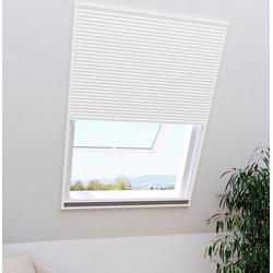Windhager Insektenschutz-Dachfenster-Rollo Dachfenster 2in1 EXPERT, mit Plissee, BxH: 110x160 cm