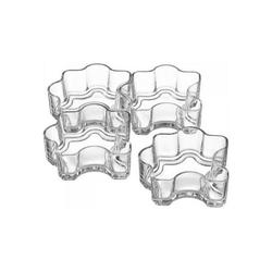 LEONARDO Servierschale Puzzleschälchen, 4-teilig Limito, Glas, (4-tlg)