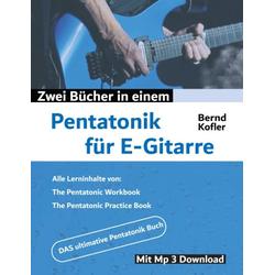 Pentatonik für E-Gitarre als Buch von Bernd Kofler