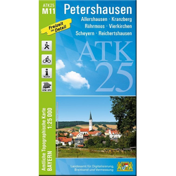Petershausen 1 : 25 000