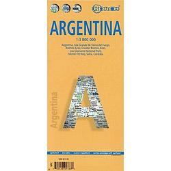 Borch Map Argentinien / Argentina - Buch