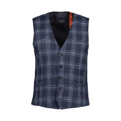 Lavard Woll-Weste mit einem Karo-Muster 10121  50