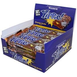 WEIDER Yippie Brownie-Vanille Riegel 12 x 70 g