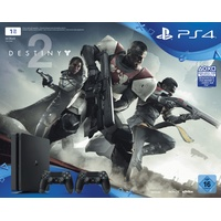 Sony PS4 Slim 1TB + Destiny 2 + 2x DualShock 4 Wireless Controller + That's You Voucher (Bundle)