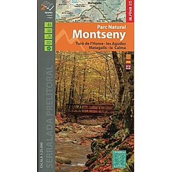 Montseny 1:25 000 Laufzeit bis 2021 - Buch