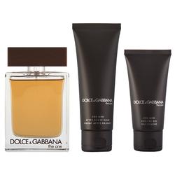 Dolce & Gabbana The One Geschenkset for Men EDT 100 ml + 75 ml Aftershave Balm + 50 ml Duschgel
