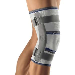 Bort Kniebandage einstellbares Gelenk Knie Gelenk Stütze Bandage Gelenk Schiene, Links, XXL
