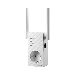 ASUS RP-AC53 AC750 Dualband WLAN-Repeater mit Frontsteckdose