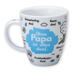 "Sheepworld Tasse Sheepworld - Tasse ""Ohne ... ist alles doof"" 0,5l ODIAD Geschenk Kaffee- Tasse Motiv: Papa"