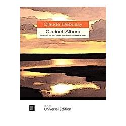 Clarinet Album  für Klarinette (B) und Klavier. Claude Debussy  - Buch