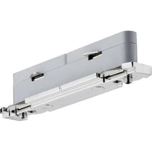 Paulmann Hochvolt-Schienensystem-Komponente Längsverbinder URail System Light&Easy 95136 Silber