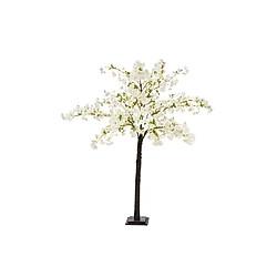 Kunstpflanze Kirschbaum Weiß