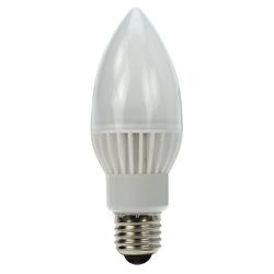 Heitronic®LED Kerze, Leuchtmittel E27 5W = 30 Watt 310 Lumen 5000K neutralweiß Winkel 240º Länge 133 mm