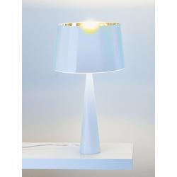 Tischleuchte Totem weiß, Designer Aluminor, 58.5 cm