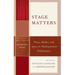 Stage Matters als Buch von