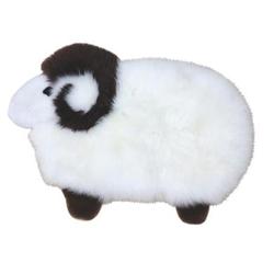 Heitmann Spielteppich aus Lammfell Schaf klein