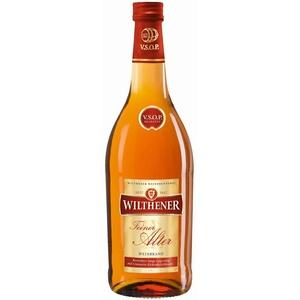 Wilthener Feiner Alter Weinbrand 36% vol., Brandy in V.S.O.P.-Qualität, in Limousin-Eichenholzfässern gelagert (1 x 0.7 l)