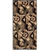 Möve Modernism Kreise Handtuch (50x100cm) brown