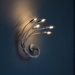 Turciù 5 LED - Nickel