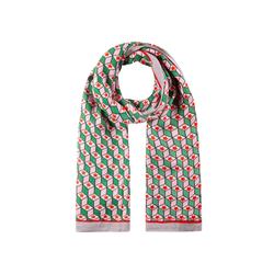 Viskose-Schal mit exklusivem Grafik-Print Codello green