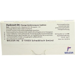 DYSKRASIT D 6 Ampullen 8 ml