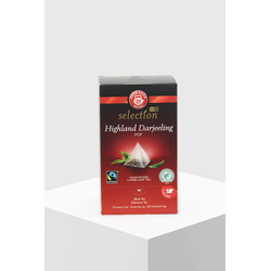 Teekanne Luxury Cup Highland Darjeeling 20 Pyramidenbeutel