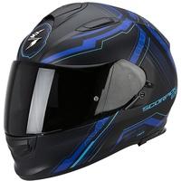 Scorpion Exo-510 Air Sync Matt-Schwarz/Blau