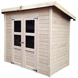 Kleines Gartenhaus aus Holz 3,26m² Merseburg 3 - Karibu