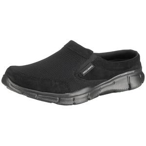 Skechers EQUALIZER COAST TO COAST Komfort-Pantoletten Pantolette schwarz 47.5