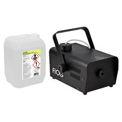 Involight FOG 900 Nebelmaschinen Set inkl. Smoke Fluid, 5L