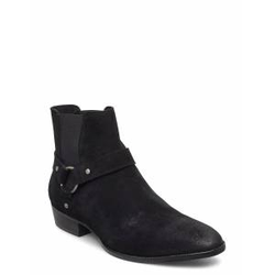 Bianco Biabeack Suede Western Shoes Chelsea Boots Schwarz BIANCO Schwarz 42,43,44,41,40