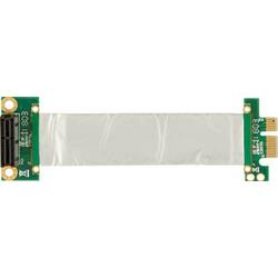 PCE120 PCIe(x1) Riser flexibel (100 mm)