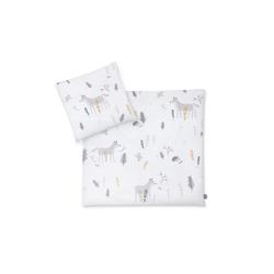 Julius Zoellner Bettwäsche in weiß mit Muster Sweet Forest, 80 x 80 cm